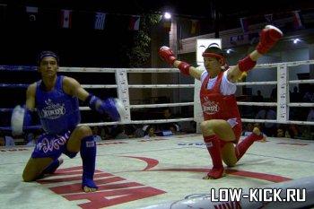 В Москве прошел турнир по тайскому боксу