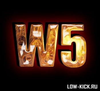 """""""W5 Fighter"""" 24 февраля на ринге """"Arena Moscow"""""""