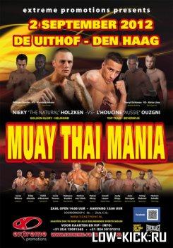 Muay Thai Mania-2012: Ники Холцкен проведет долгожданный матч-реванш с Узгни