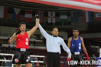 В Санкт-Петербурге определились полуфиналисты чемпионата мира по тайскому боксу IFMA 2012