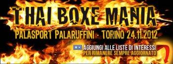 Итоги Thai Boxe Mania 2012 в Турине