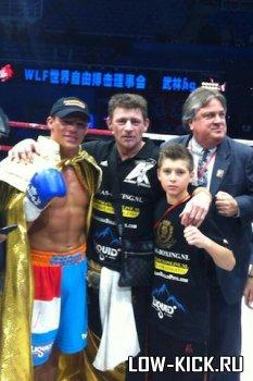 Альберт Краус стал победителем китайского турнира по кикбоксингу (ВИДЕО)