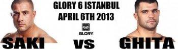 Гохан Саки и Даниэль Гита проведут бой 6 апреля на GLORY 6 Istanbul (ВИДЕО)