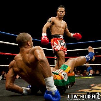 Lion Fight 8: Йодсанклай нокаутировал Грегори Чоплина