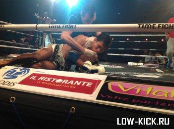 Результаты La Nuit Des Titans: Карим Гажди нокаутировал доселе непобедимого Аикпрачу (ВИДЕО)