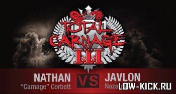 Total Carnage III: Натан Корбетт проведет бой с Жавлоном Назаровым