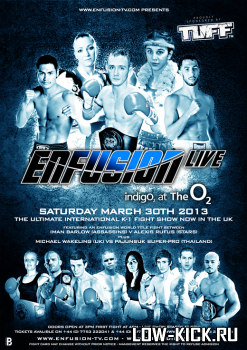 Enfusion Live: Майк Вейкелинг разбил Пайонсука; Иман Балроу стала чемпионкой Enfusion 54 кг