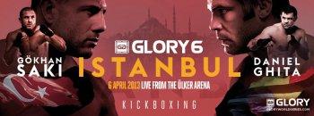 Саки нокаутировал Гиту на GLORY 6 Istanbul!