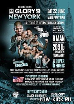 22 июня состоится турнир тяжеловесов GLORY 9 NYC
